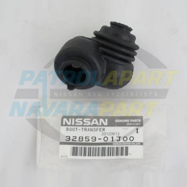 Nissan Patrol GQ Genuine Transfer lever Rubber Boot Middle