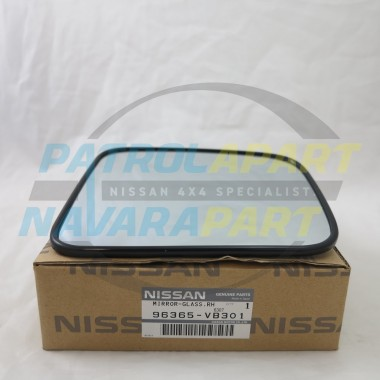 Genuine Nissan Patrol GU Series 4 Before 08/2013 RH Mirror Glass