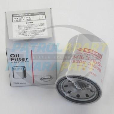 Nissan Patrol Genuine Oil Filter GU Y61 TB45 TB48 Y62 VK56