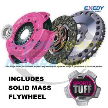 Nissan Patrol GU RD28TI Exedy Sports Tuff Heavy Duty Clutch Kit with Solid Mass Flywheel