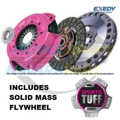 Nissan Patrol GU RD28TI Exedy Sports Tuff Heavy Duty Clutch Kit with Solid Mass Flywheel