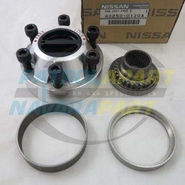 GENUINE Nissan Patrol GQ GU Manual Free Wheeling Hub Assembly