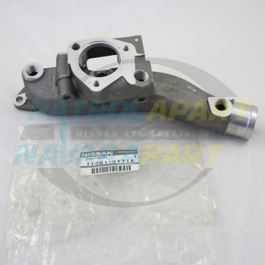 Genuine Nissan Patrol GU TD42T Lower Thermostat Housing