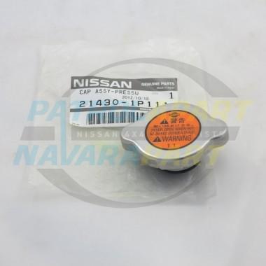 Nissan Patrol Genuine Radiator Cap 110kpa