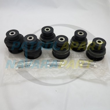 Genuine Nissan Patrol Body Mount Set GQ Y60 UTE Coil