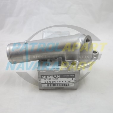 Genuine Nissan Patrol GQ GU TD42 Thermostat Outlet Housing