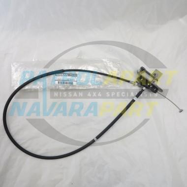 Nissan Patrol GU Y61 TB48 Genuine Throttle Cable