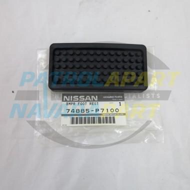 Genuine Nissan Patrol GQ Y60 Foot Rest Rubber Pedal Pad