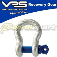 VRS 4.75t Recovery Bow Shackle for 4wd 4x4 & Winch