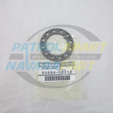 Genuine Nissan Patrol Hub Nut Lock Washer Late Model GQ & GU