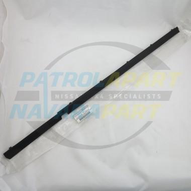 Genuine Nissan Patrol GQ Weatherstrip LHR Outer