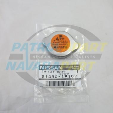 Nissan Patrol GU Y61 Genuine Radiator Cap Blank