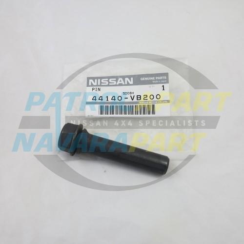 Nissan Patrol GU Y61 Genuine Front Top Caliper Slide