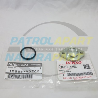 Nissan Patrol GU RD28 Injector Pump Advance Plate & Oring