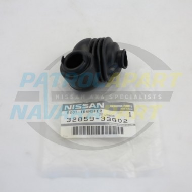 Genuine Nissan GQ Patrol Lower Transfer Lever Rubber Boot
