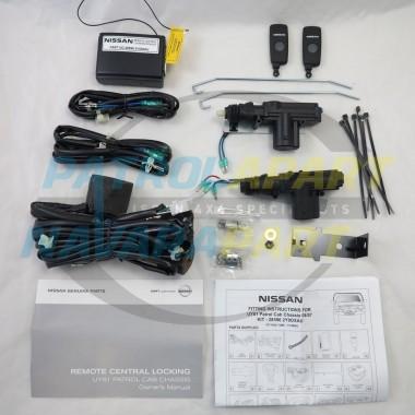 Genuine Nissan Patrol GU Y61 UTE Remote Central Locking Kit