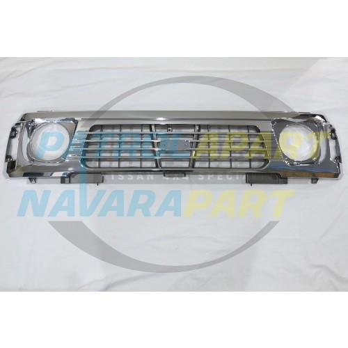 Nissan Patrol Aftermarket Chrome Grille Suit GQ Series 2