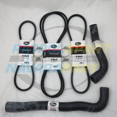 Nissan Patrol Emergency Radiator Hose & Fan Belt Kit GU TB45