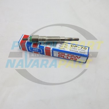 Nissan Patrol GQ RD28 Japanese Glow Plug Single Pole (Front 3)