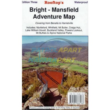 Map Bright - Mansfield rooftop adventure map