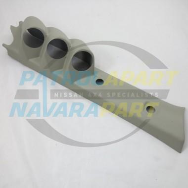 Nissan Patrol GU Pillar Pod Three gauge 52mm Gauges Colour G