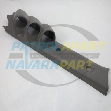 Nissan Patrol GU Pillar Pod Three gauge 52mm Gauges Colour K