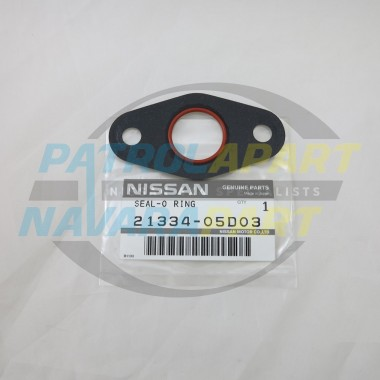 Genuine Nissan Patrol TD42 Oil Cooler Gasket with Oring