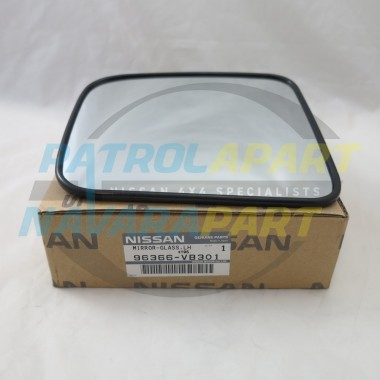 Genuine Nissan Patrol Mirror Glass GU 1-4 LH Electric Mirror