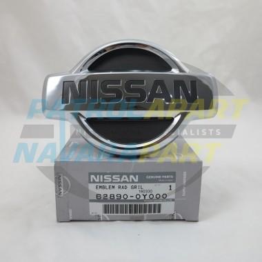 Genuine Nissan Patrol GQ Series 2 Grille Badge