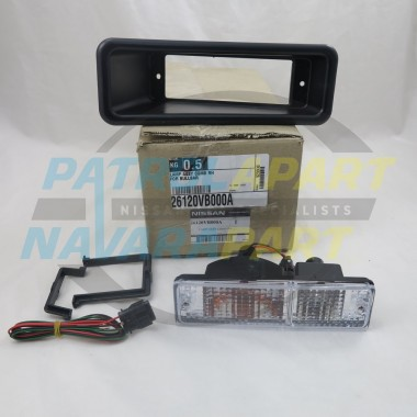 Genuine Nissan Patrol GU Alloy BullBar Indicator Light RH