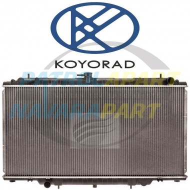 KOYORAD Aluminium Radiator for Nissan Patrol GU Y61 TD42 & TD42T Manual