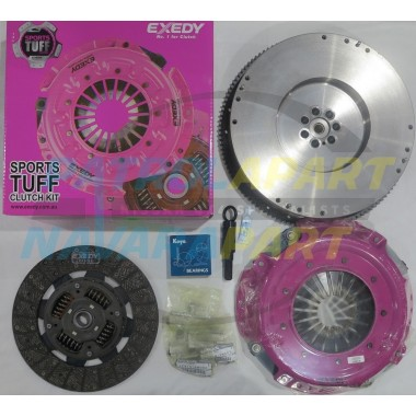 HD Clutch Kit suit Nissan Patrol GU ZD30 with Solid Flywheel