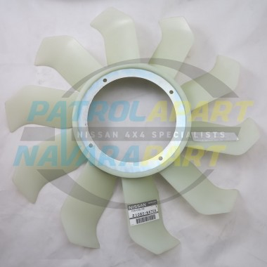 Genuine Nissan Patrol GU Y61 Fan Blade ZD30 Common Rail