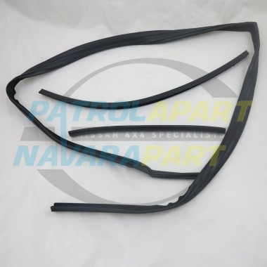 Nissan Patrol GQ Window Bailey Channel LHF Manual Mirror