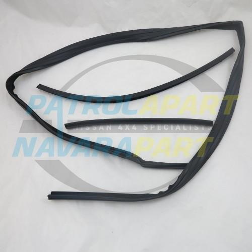 Nissan Patrol GQ Window Bailey Channel LHF Manual Mirror