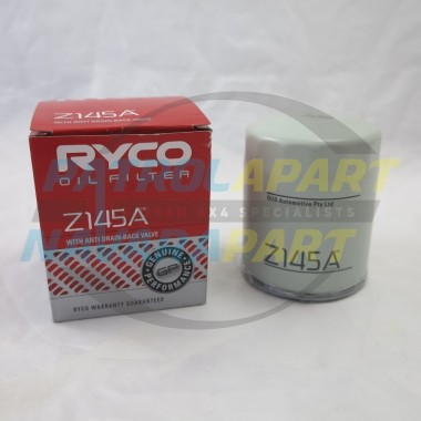 Nissan Patrol GQ RB30 Ryco Oil Filter