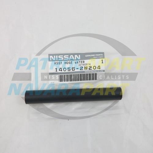 Genuine Nissan Patrol GU Y61 ZD30 EGR Straight Heater Hose
