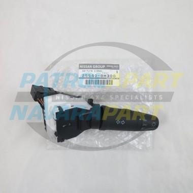 Genuine Nissan Patrol GU Y61 Series 4 Headlight Combo Switch