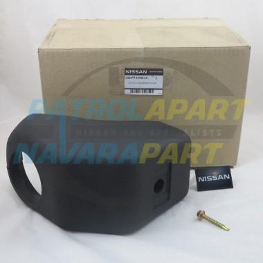 Genuine Nissan Alloy Bull Bar Bumperette Kit Left Hand Side