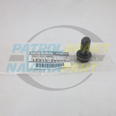 Genuine Nissan Patrol GQ Y60 GU Y61 TD42 Flywheel Bolt
