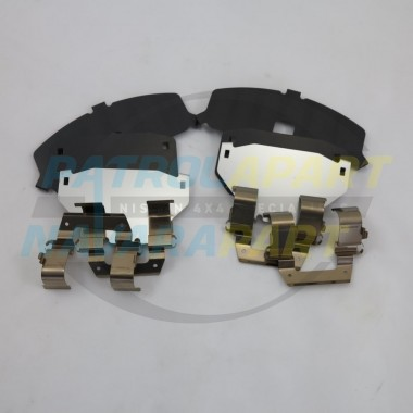Genuine Nissan Patrol GQ Y60 Rear Brake Caliper shim kit