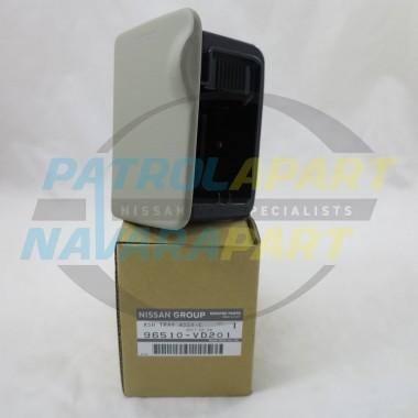 Nissan Patrol Genuine Ash Tray Suit GU Colour Code J