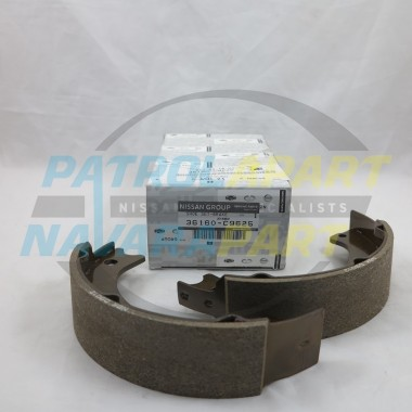 Nissan Patrol Genuine HandBrake Shoes GQ & GU