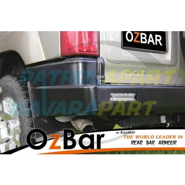 OZBAR Rear Bar suit Nissan Patrol GU4 With Two Pivots but No Carriers