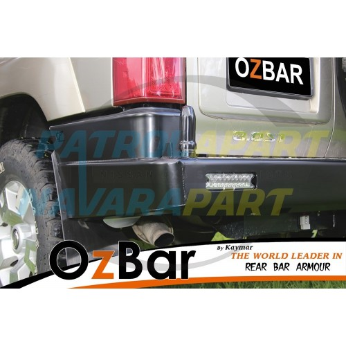 Nissan Patrol GU4 OZBAR With Two Pivots but No Swing Away Carriers