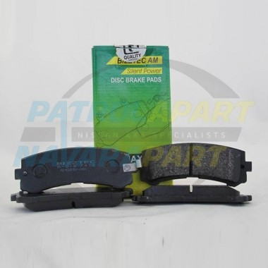 Brake Pad 4.8 Rear Nissan Patrol GU
