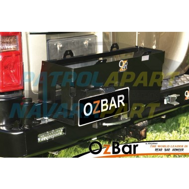 Nissan Patrol GU Series 1-3 OZBAR With Wheel Carrier & Double Jerry Can Carrier