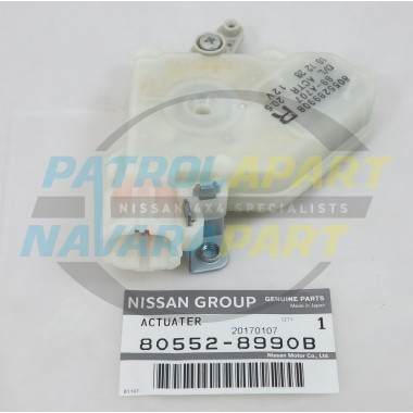 Genuine Nissan Patrol GU RHF Door Lock Actuator
