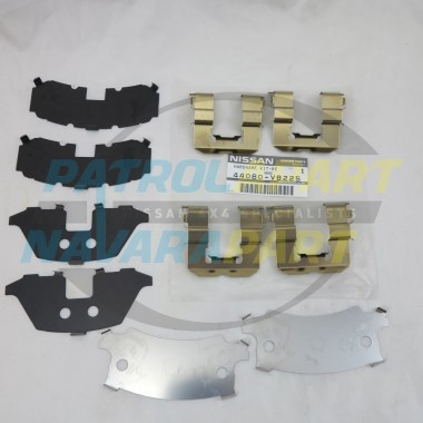 Genuine Nissan Patrol GU Rear Brake Caliper Shim Kit (Not TB48)