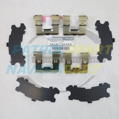 Genuine Nissan Patrol GU Y61 TB48 Brake Caliper Shim Kit